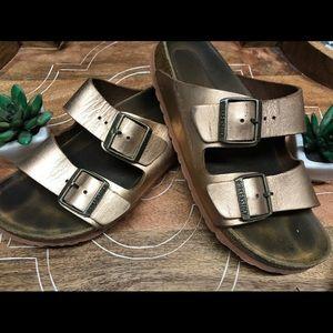 🌻Copper Arizona Birkenstocks Size 38 (8)